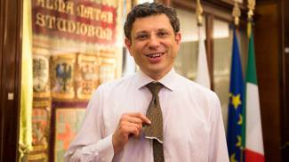 """Il nuovo Rettore Ubertini: """"Sono giovane, ma ho le spalle larghe"""""""