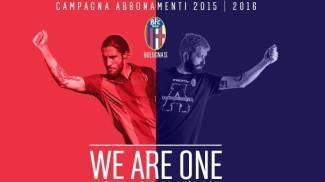 """Bologna, """"We are one"""": ecco prezzi e info della campagna abbonamenti 2015-2016"""