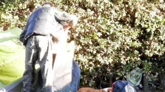 Il clochard del Pincio ha trovato un tetto: in carcere