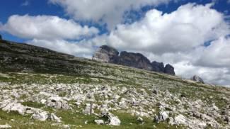 Due alpinisti rodigini soccorsi sulla croda dei Toni