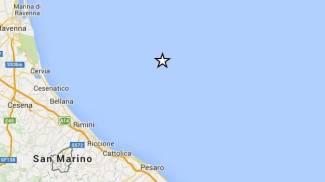 Terremoto in mare, scossa di magnitudo 3.1