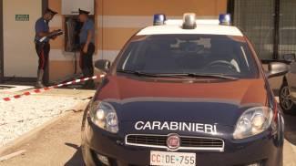 Assalto esplosivo al bancomat della Cassa di Risparmio di Imola del 'Famila'