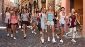 Miss Italia, una giornata con le più belle della regione