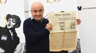 Paolo Cevoli, una giornata al Carlino