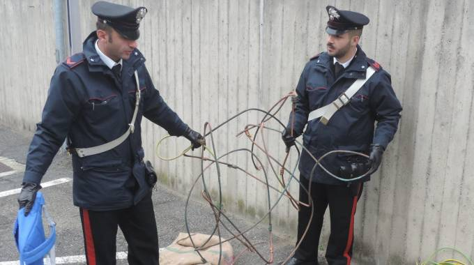 Ladri di rame: Da Pescara arresti nel Centro Italia