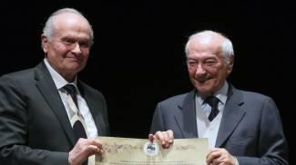 L'Accademia Pianistica premia Piero Angela