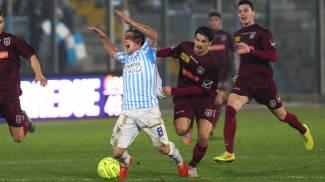 La Spal vola con Finotto, Pontedera sconfitto 1-0. Le foto della vittoria