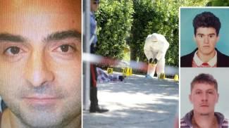 Delitto di Fermo: Gianluca Ciferri, la scena dell'omicidio (Ansa) e le due vittime