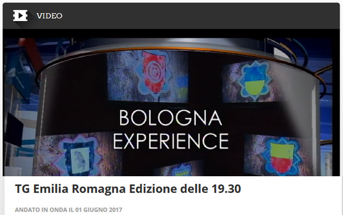 Bologna Experience: servizio della RAI