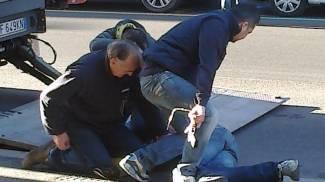 Bologna, il rapinatore di via Mazzini  bloccato e disarmato