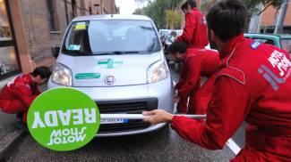 Pit stop Motor Show a Bologna (FotoSchicchi)