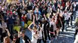 La sfilata dei carri al Carnevale di Gambettola